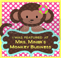 Mrs. Miner's monkey business