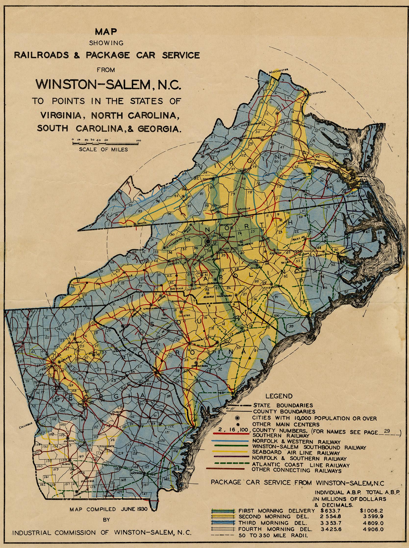 Winston Salem North Carolina Room Forsyth County