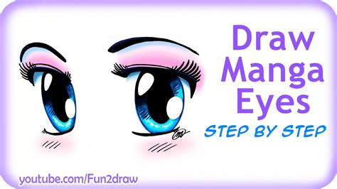draw easy manga eyes youtube