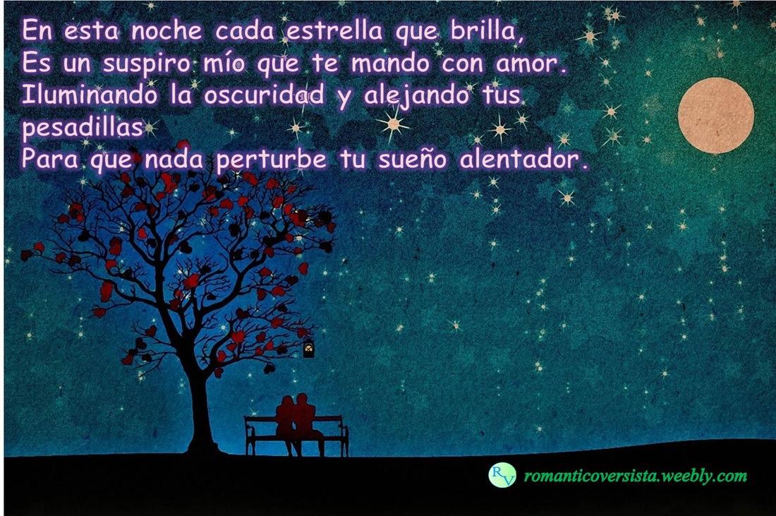 Versos Y Frases De Buenas Noches Romantico Versista