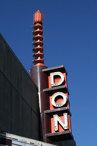 don theater neon sign