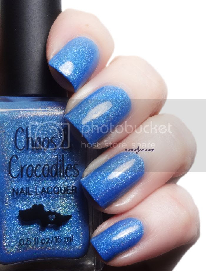 xoxoJen's swatch of Chaos & Crocodiles there's magic in the air
