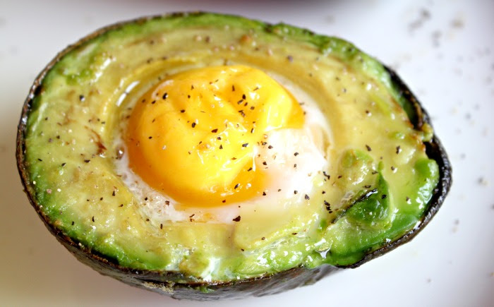 Image result for pictures of baked egg and avocado