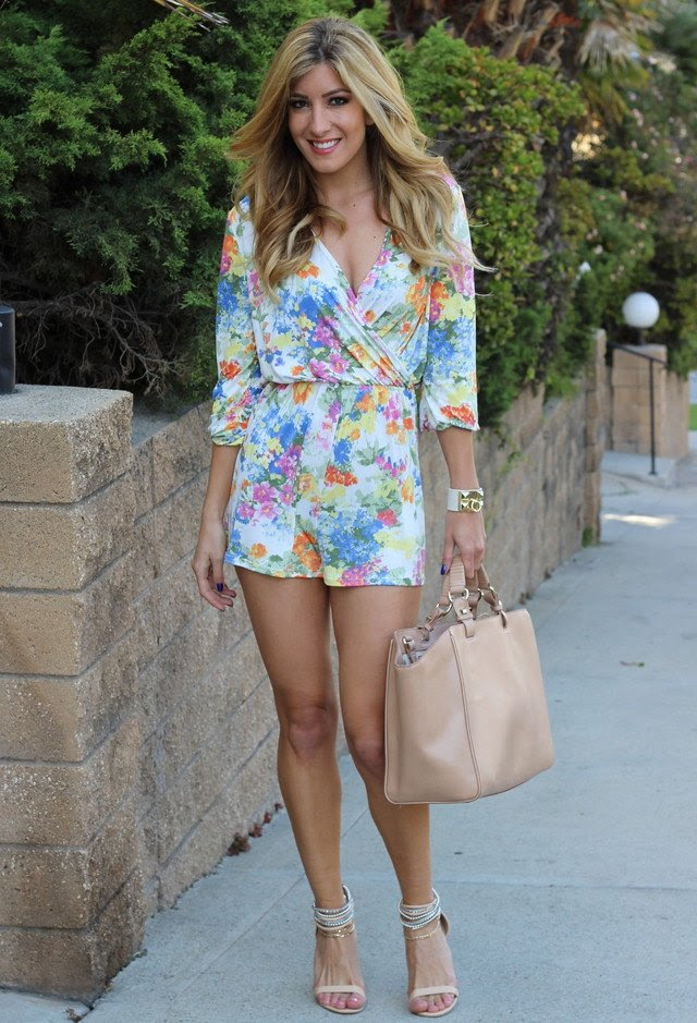 13 stunning floral jumpsuit outfit ideas for summer