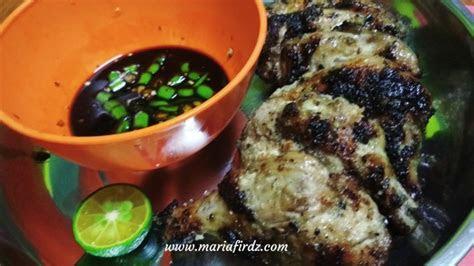 resepi ayam panggang sarawak style memang merecik