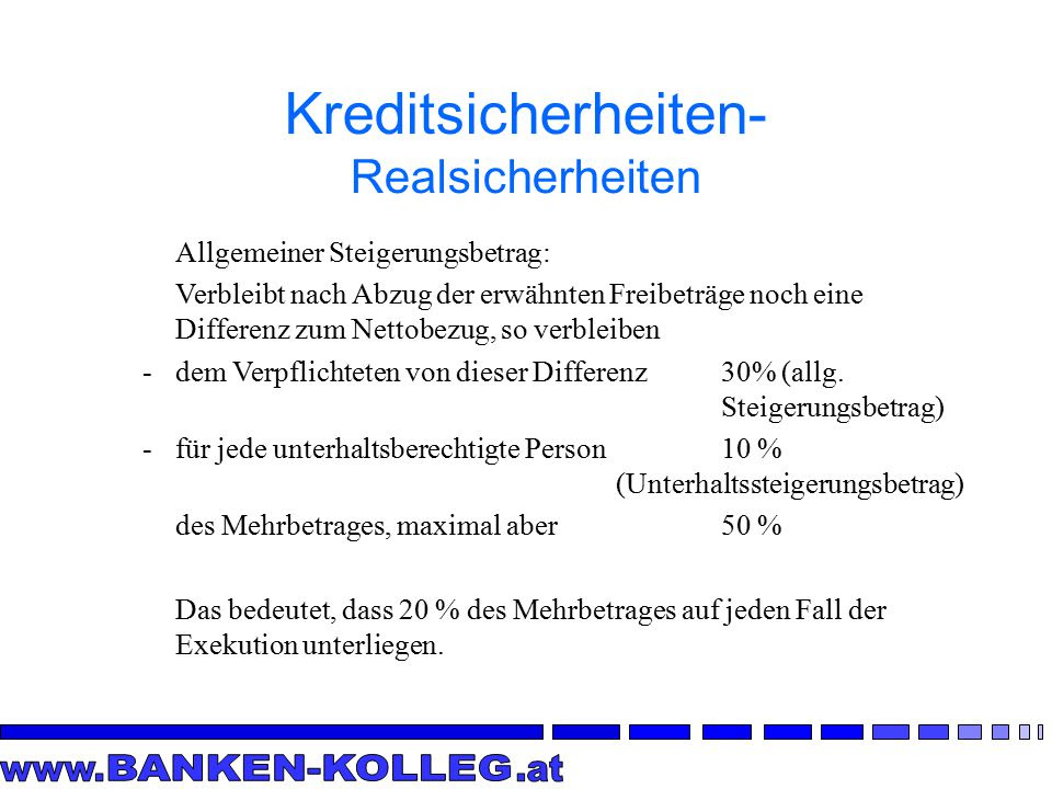 Kreditsicherheiten Zession  ppt video online herunterladen