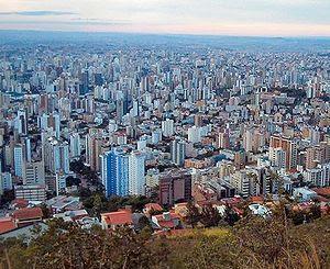 View of Belo Horizonte.