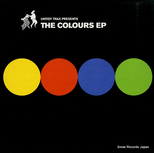 THE UNTIDY DJS the colours ep Vinyl Records