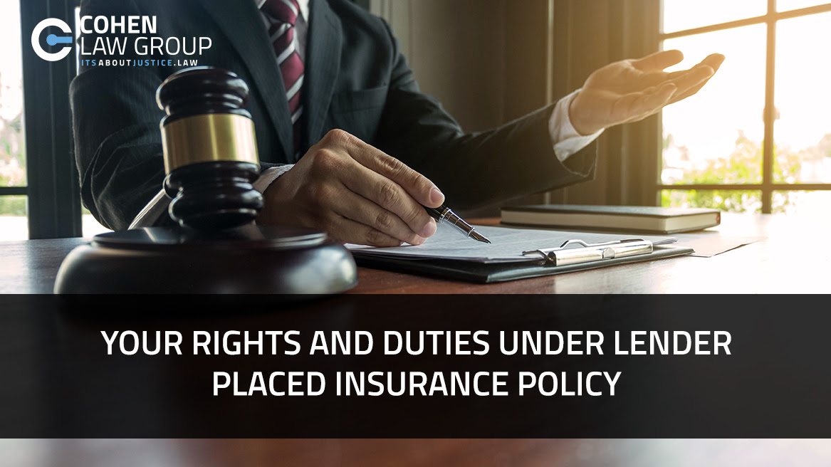 Your Rights and Duties Under a Lender Placed Insurance ...