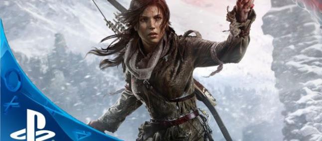 Vaza data de lançamento de Rise of the Tomb Raider para PlayStation 4