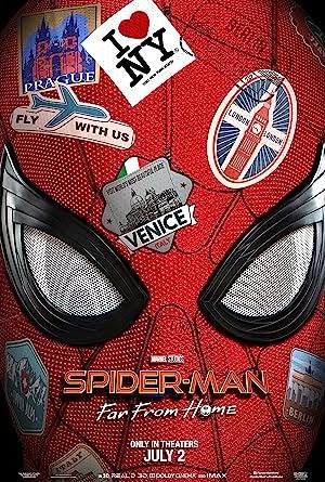 Download Spider-Man: Far from Home (2019) {Hindi-English} HDTC 480p [400MB] || 720p [1GB]