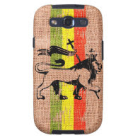 Reggae lion samsung galaxy SIII covers