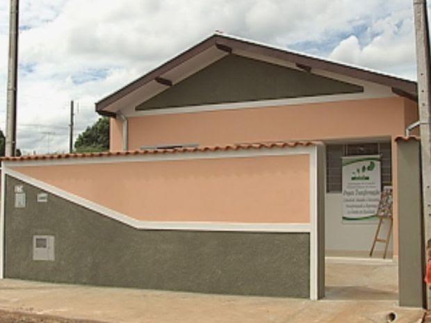Casa foi totalmente transformada para receber a família  (Foto: reprodução/TV Tem)