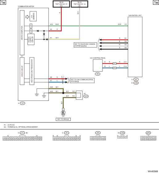 Subaru Navigation Wiring Diagram