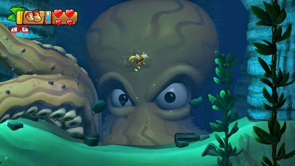 Donkey Kong Country: Tropical Freeze holds gaming's greatest water level screenshot