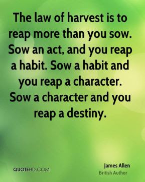 Quotes About Reap 235 Quotes