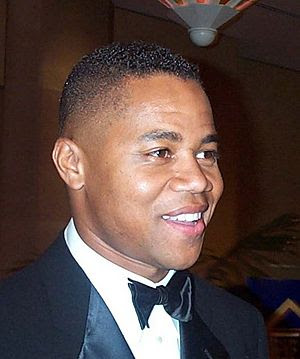 "English: Cuba Gooding Jr., star of ""Men o..."