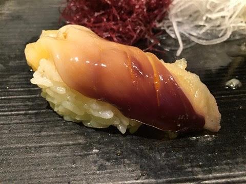 北寄貝壽司 - 尖沙咀的松