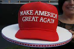 Image result for pro trump cakes pictures