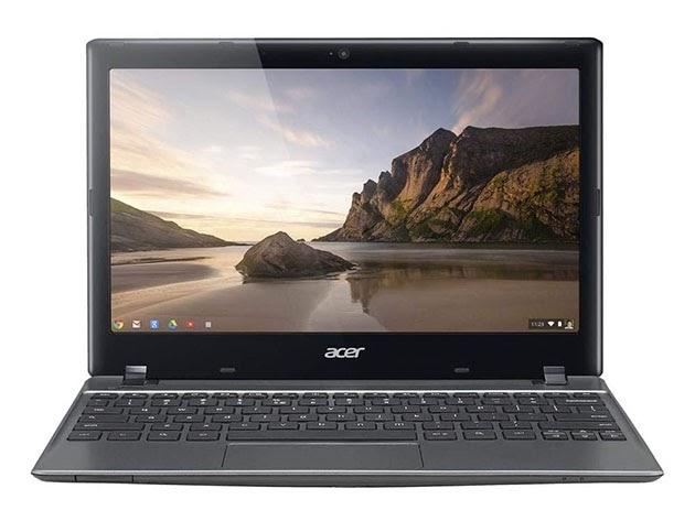 """Acer 11.6"""" Chromebook C720-2103 Intel Celeron 1.4GHz, 2GB - Black (Refurbished) for $169"""