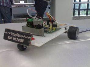 Dây chuyền Robot theo sau với PIC16F628A -Laylon-