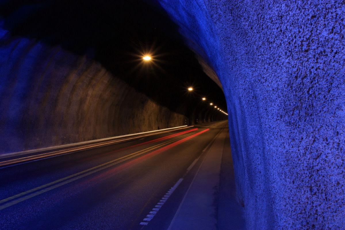 Lærdal Tunnel: o maior túnel rodoviário do mundo 09