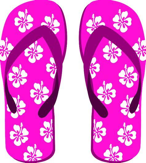 gambar vektor gratis sandal jepit sandal pantai sepatu