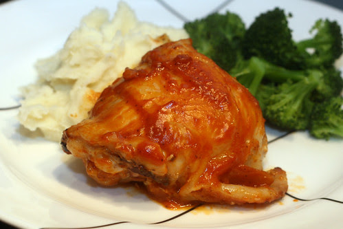 caramelized chipotle chicken