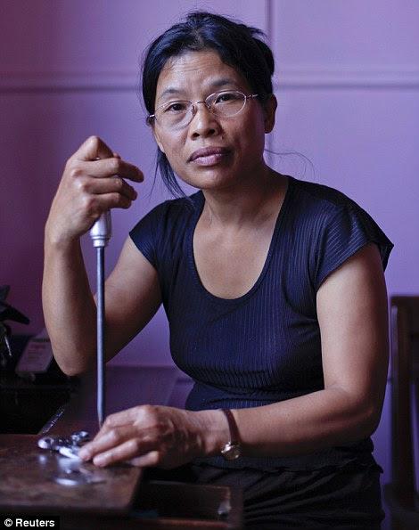 Muani, 41 anos, a 7ª esposa de Ziona