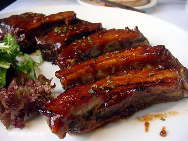 Baby Back Pork Ribs - Served 3 ways: Fiery, Alabama and Smoked Hickory BBQ