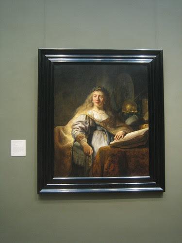 Minerva, 1635, Rembrandt (Rembrandt van Rijn) _8280