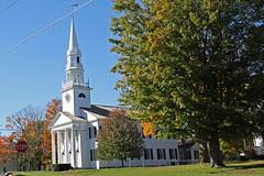 New England church Litchfield, CT