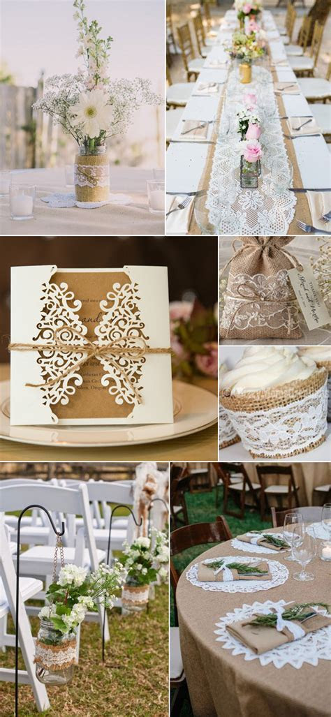 Top 5 Romantic and Breathtaking Lace Wedding Decor Ideas