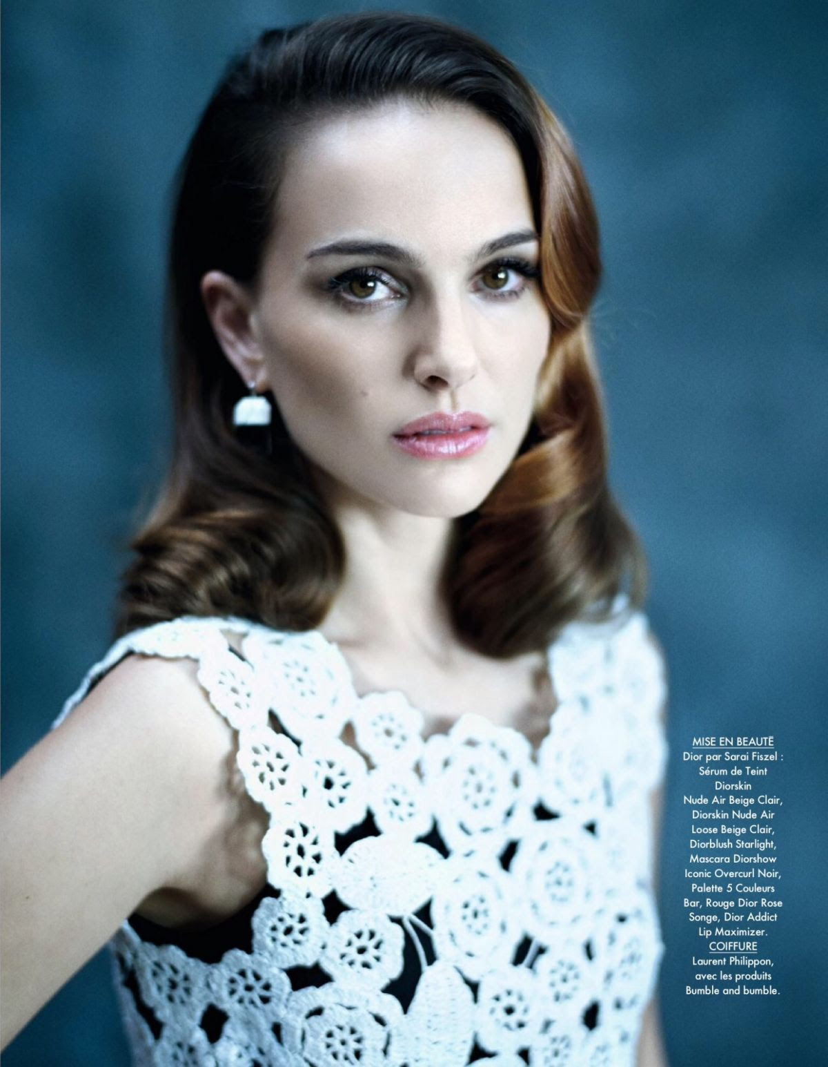 NATALIE PORTMAN in Elle Magazine, February/March 2015 Issue