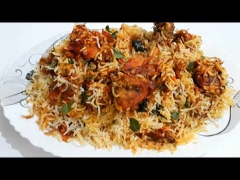 Yummy Chicken Biryani - Recipe for Cooking at Home