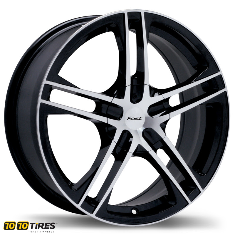 Fast Wheels Reverb Painted Black Wheel 1010tires Com Online Wheel And Tire Store