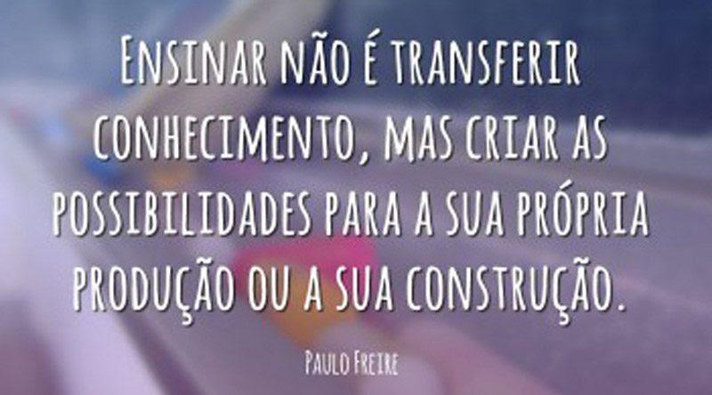 10 Frases De Paulo Freire Educamais