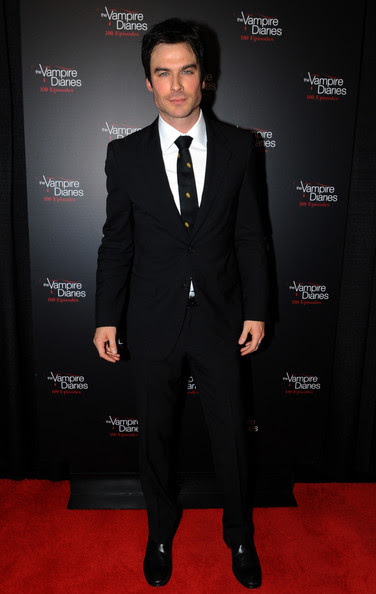 Ian Somerhalder - The Vampire Diaries 100th Episode Celebration - Arrivals
