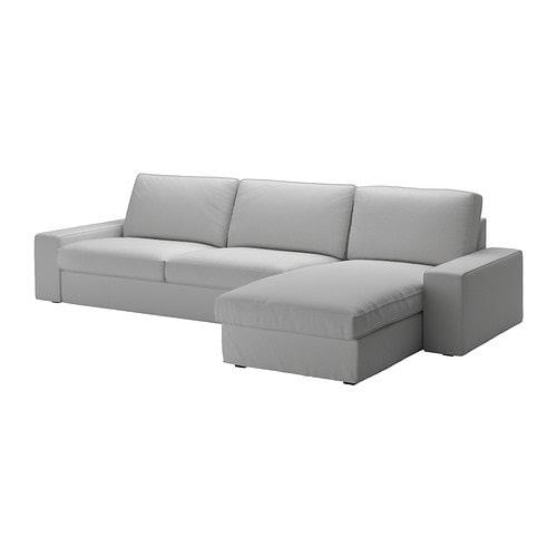 KIVIK 4-seat sofa - Orrsta light grey - IKEA