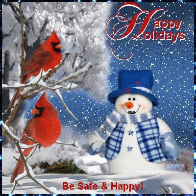 Be Safe & Happy! Free Happy Holidays eCards, Greeting