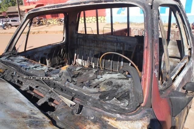 Incêndio criminoso é investigado pela Polícia Civil de Guajará-Mirim (Foto: Portal Guajará/Reprodução)