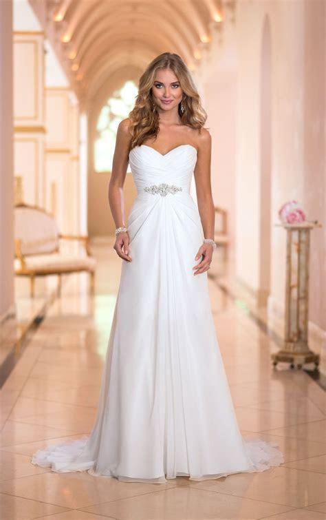 Best 25  Chiffon wedding dresses ideas on Pinterest