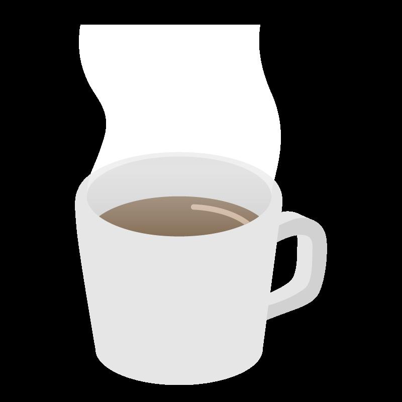 コーヒー湯気のイラスト 素材 Tech Pic