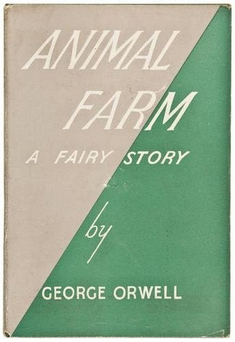 "Primera edición de ""Animal Farm"" (1945)"
