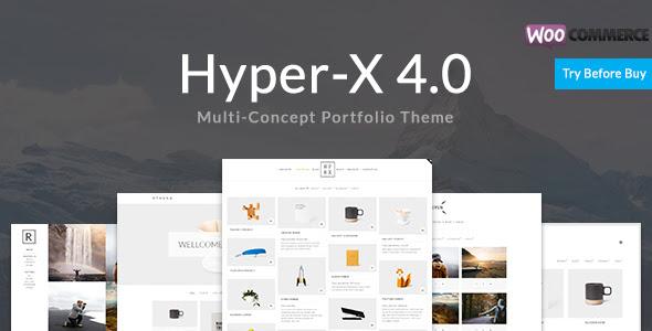 hyperX wp theme premium 2017