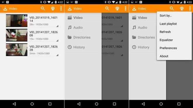 VLC for Android bug fixed and receives improvements