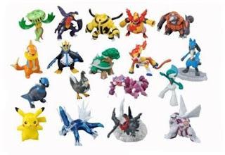 Pokemon DP figures 18pcs box set (Inc. Garchomp Carnivine etc)