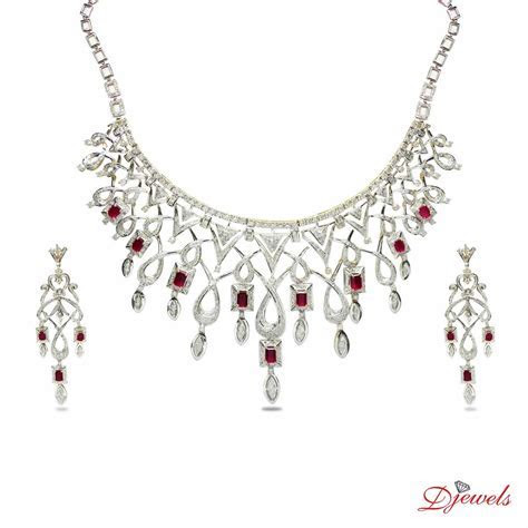 Diamond Necklace And Earring Set Price Pourni Traditional