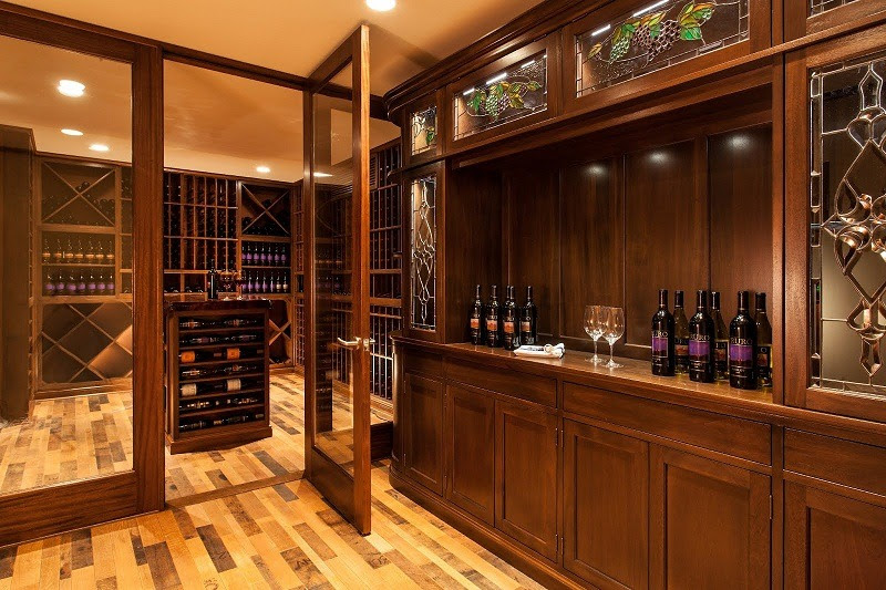 Custom Wine Cellars Boston MA – Cape Cod Project