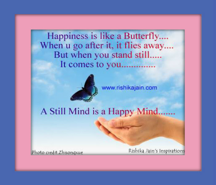 Happiness Is Like A Butterfly Inspirational Quotes Pictures